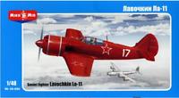 Mikro Mir 48-006 Lavochkin La11 Soviet Fighter - Aircrafts 1/48 Scale Model Kit