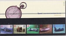 GB Presentation Pack 291 Land Speed Records. 1998 10% OFF FOR ANY 5+