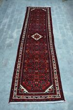 F2333 Unique Hand Knotted Tribal Moroccan Hallway Rug Shirazi Runner 2'7 x 10 Ft