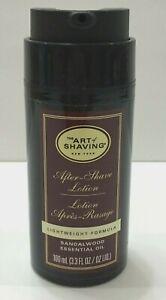 The Art of Shaving After-Shave Lotion Lightweight Formula Sandal Wood 100 ml
