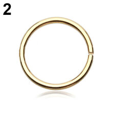 Fake Nose Ring Septum Ring Hoop Cartilage Tragus Helix Small Piercing Daith