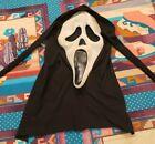 Vintage Scream Ghostface Mask.Fun World Div. Gen 1 Cotton, Glows Fantastic Faces