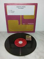 CD CRISTINA ROMA - UN ATTIMO - SINGLE CD-R PROMO