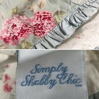 SIMPLY SHABBY CHIC Hydrangea Floral Ruffled King Pillow Sham