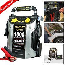 BATTERY JUMP STARTER 1000 Amp Peak Portable Car Charger Power Truck Booster Pack