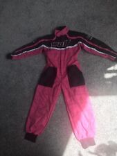 Girls Wulfsport Suit Pink Size L Immaculate Condition