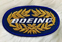 Vintage BOEING Crest Embroidered Iron On Sew On Patch 737 747 767 777 787 RARE