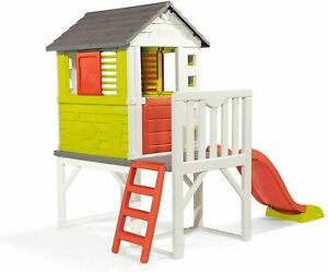 Smoby House on Stilts with Slide Kids Playhouse from 3+