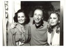 """1986 RAI DUE """"Fuori Scena"""" - Enzo MUZII tra Gina LAGORIO e Valeria MORICONI"""