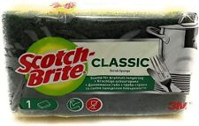 More details for scotch brite classic heavy duty sponge scourers kitchen washing dish household