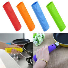 Thick Heat Insulation Silicone Saucepan Pot Pan Handle Holder Grip Cover
