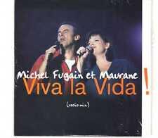 Michel Fugain & Maurane - Viva La Vida! - Promo CDS - 1996 - Chanson