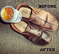 Original Huberd's Shoe Grease 7.5 Ounce Can.  Does Wonders for Your Leather.