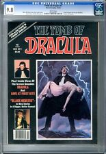 Tomb of Dracula  #1  CGC  9.8  NMMT  White Pages
