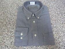 Camicie classiche da uomo doppio polsino regolare in cotone