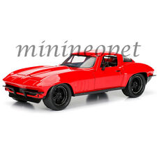 JADA 98298 FAST AND FURIOUS 8 LETTY'S CHEVY CORVETTE 1/24 DIECAST MODEL CAR RED