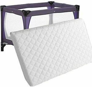 New Thick Travel Cot Foam/Mattress Fit 100 X 70 X 7.5 CM More Comfy For New Born