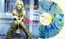 Britney Spears Exclusive RARE Clear With Yellow & Blue Splatter Vinyl LP MINT