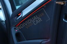 2m EL Ambiente Lichtleiste Rot Ambientebeleuchtung Innenraumbeleuchtung Audi