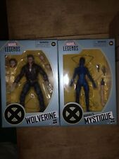 MARVEL LEGENDS X-MEN 20TH ANNIVERSARY WOLVERINE (JACKET) & MYSTIQUE 6? FIGURES