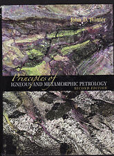 Principles of Igneous and Metamorphic Petrology by John D. Winter (Hardback, 200