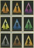 Star Wars - Solo - Silhouettes - Complete 11 Card Chase SET - NM
