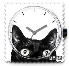 Quadrante orologio Stamps Catwoman gatto nero watch orologi reloj nuovo 100164