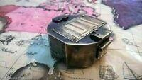 Maritime Brass Brunton Compass Vintage Marine Nautical Solid Compass