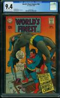 World's Finest Comics #180 CGC 9.4 SUPERMAN vs BATMAN Neal Adams cover Not 9.8