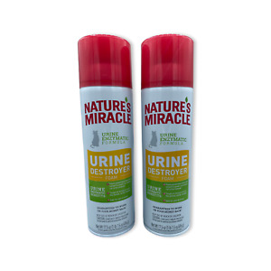 Natures Miracle Cats Urine Destroyer Foam 17oz  Free Shipping