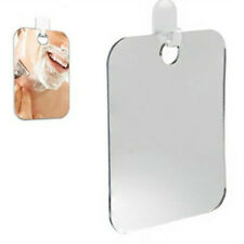 17x 13cm Anti Fog Shower Mirror Bathroom Fogless Fog Free Mirror Washroom Travel