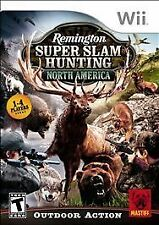 Nintendo Wii Game REMINGTON SUPER SLAM HUNTING NORTH AMERICA
