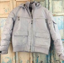 Spyder Xscap Light Blue Ski Jacket Winter Coat Hooded Women's Size 6