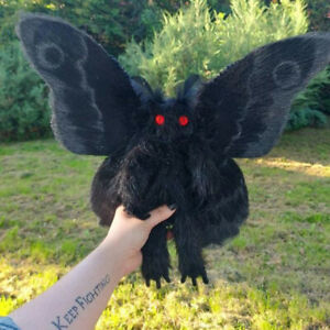 Cute Plushies Stuff Animals Plush Toys Gifts for Friends Gothic Mothman PlusBDA