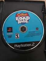 The Simpsons: Road Rage (Sony PlayStation 2, PS2, 2001) Tested/WORKING Disc Only