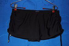 MERONA Black Swimsuit Bottom  w Skirt Size S NWOT