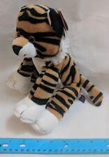 First & Main THEODORE Tiger Cat Plush Stuffed Toy w/ Ear Tag V3704