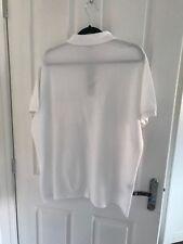 Blanc Homme Polo LACOSTE taille 7 XL avec poche Détail