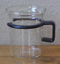 Bodum Bistro Clear Glass Coffee Mug/Cup - Black Plastic Handle -Star Trek/Picard