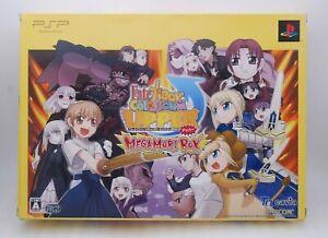 PSP Fate Tiger Colosseum UPPER MEGAMORI BOX include Tarot card and more Japan