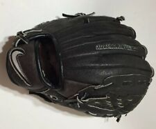 "Youth NIKE Black 10"" Leather Right-Handed Baseball Glove RH Mitt KDR1000 NICE!!!"
