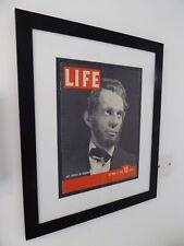 Frame Abraham Lincoln Life Magazine Cover