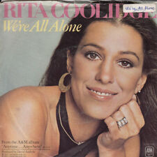 Rita Coolidge We're All Alone b/w Southern Lady (PS) 45-rpm Record