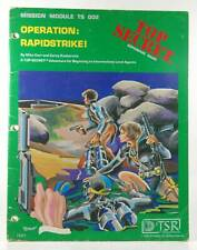 Operation: Rapidstrike! (Top Secret espionage roleplaying game, Mission Module T