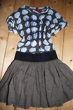ESPRIT Traum Rock & passendes Shirt khaki / navy weiß Gr 158 164 Top Zustand