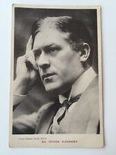 Vintage Early Postcard - Davidson Bros. # 6978 - Mr George Alexander - 1906