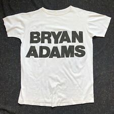 BRYAN ADAMS Reckless 1984 US A&M Records Vintage PROMO T-SHIRT X-Large VG+