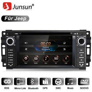 "Für Jeep Wrangler Grand Cherokee Dodge 6.2"" 2DIN Autoradio GPS NAVI Bluetooth"