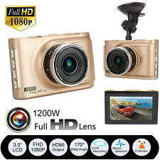 3'' Full HD 1080P Car DVR Vehicle Camera G-sensor Video Cam Recorder Night New