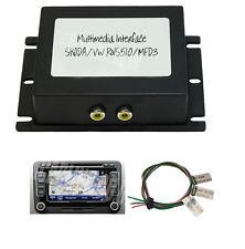 Vw MFD3 Rns510 Rns315 trasera cámara de marcha atrás interfaz